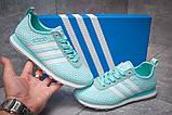 Кроссовки женские 13415, Adidas Lite, бирюзовые [ 41 ] р.(41-25,6см), фото 2