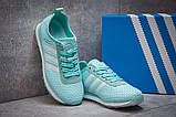 Кроссовки женские 13415, Adidas Lite, бирюзовые [ 41 ] р.(41-25,6см), фото 3