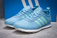 Кроссовки женские 13417, Adidas Lite, фиолетовые, < 37 38 39 40 > р.37-23,1, фото 1