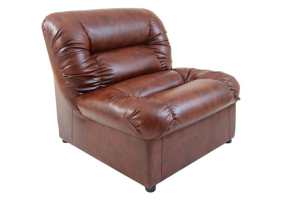 Кресло Визит коричневое Rich