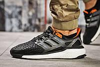 Кроссовки мужские 13823, Adidas Ultra Boost, черные, < 42 43 > р.42-25,5, фото 1