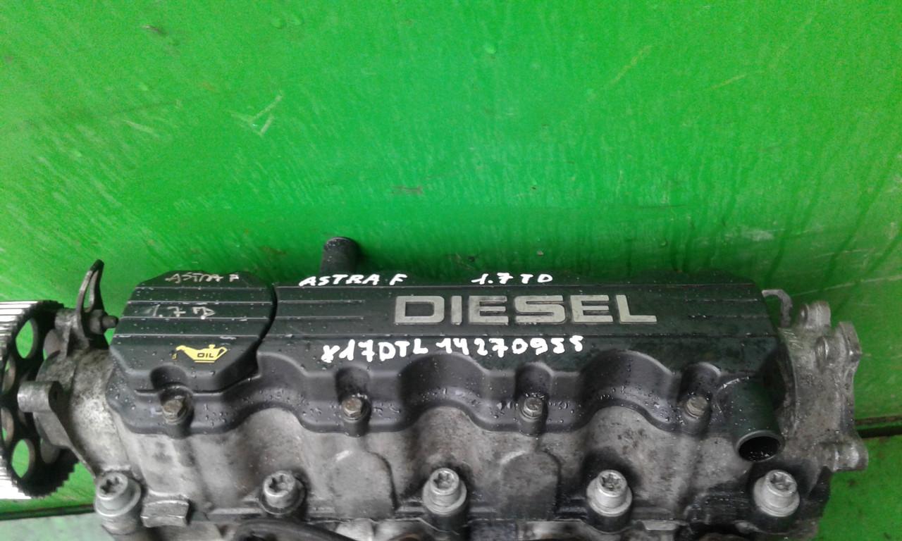 Б/у двигатель для Opel Astra F, Astra G 1.7 TD  X17DTL 14270955