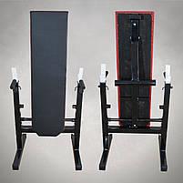 Лавка для жиму зі Стійками та Штанга 105 кг, фото 3