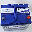 Аккумулятор VARTA 6CT 60 Blue Dynamic (D47), фото 3