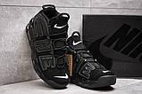 Кросівки чоловічі 13915, Nike More Uptempo, чорні, [ 44 ] р. 44-28,1 див., фото 3