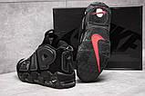 Кросівки чоловічі 13915, Nike More Uptempo, чорні, [ 44 ] р. 44-28,1 див., фото 4