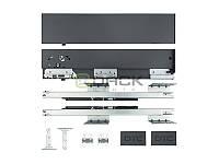 DTC ДТС Тандембокс SLIM L-400/88 графит HE11400A11 (Е 30) Light