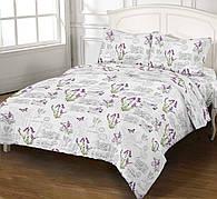 Комплект постельного белья DOTINEM Seni Бязь евро 200х215 (8807-101)