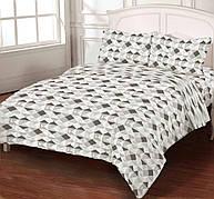 Комплект постельного белья DOTINEM Seni Бязь двуспальный 180х215 (8804-102)