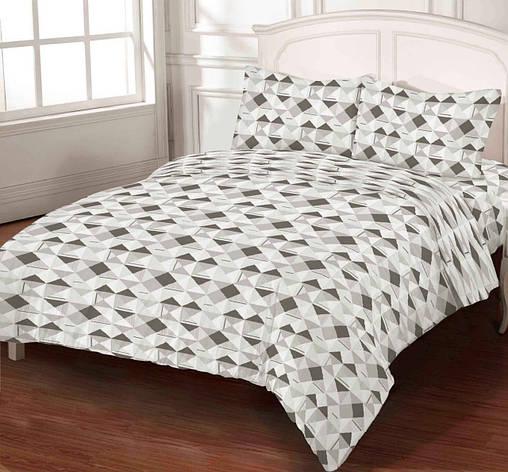Комплект постельного белья DOTINEM Seni Бязь двуспальный 180х215 (8805-102), фото 2