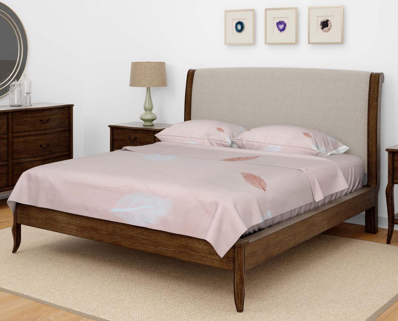 Комплект постельного белья DOTINEM Seni Бязь евро 200х215 (8807-105)