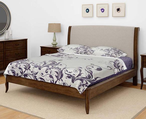 Комплект постельного белья DOTINEM Seni Бязь двуспальный 180х215 (8804-106), фото 2