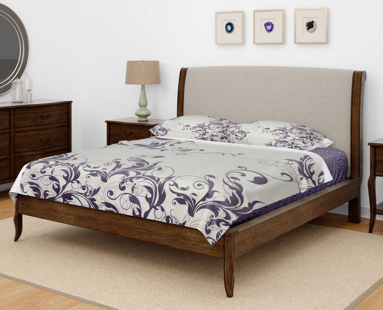 Комплект постельного белья DOTINEM Seni Бязь двуспальный 180х215 (8805-106)