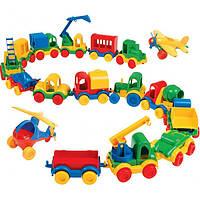 Игровой набор Wader «Kid cars»