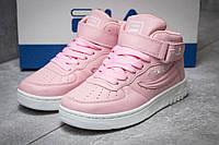 Кроссовки женские 14193, Fila FX 100, розовые, < 36 37 38 39 > р. 36-21,9см., фото 1