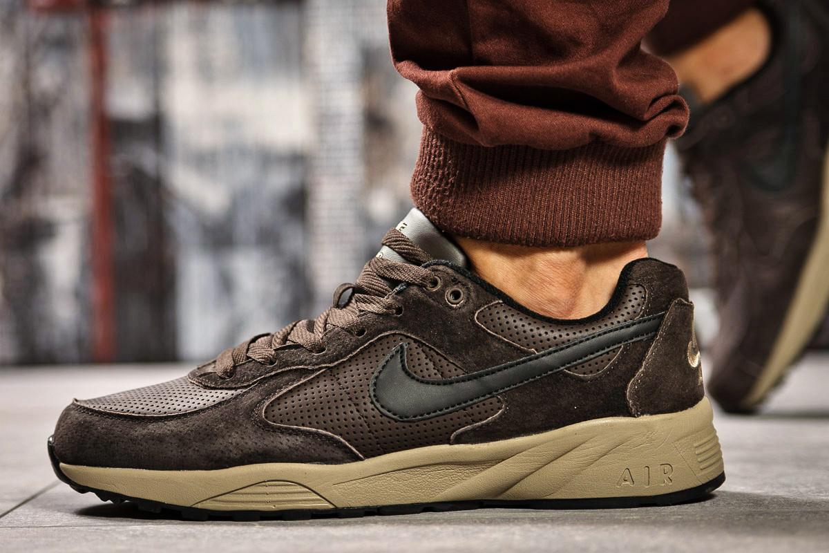 Кроссовки мужские 14212, Nike Air, коричневые, < 41 44 > р. 41-26,5см.