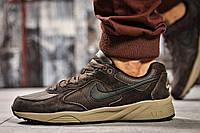 Кроссовки мужские 14212, Nike Air, коричневые, < 41 44 > р. 41-26,5см., фото 1