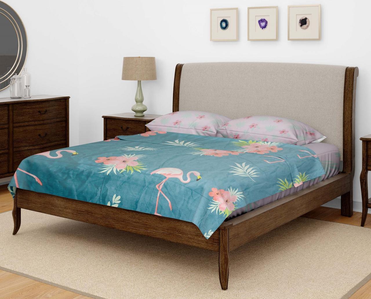 Комплект постельного белья DOTINEM Seni Бязь двуспальный 180х215 (8805-107)