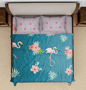 Комплект постельного белья DOTINEM Seni Бязь двуспальный 180х215 (8805-107), фото 2