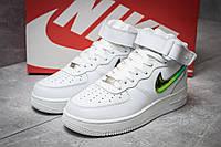 Кроссовки женские 14371, Nike  Air Force 07, белые, < 37 > р. 37-23,8см., фото 1