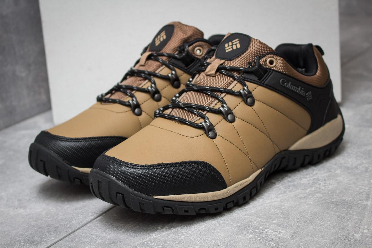 Кроссовки мужские 14685, Columbia Waterproof, коричневые, < 41 44 > р.41-25,5