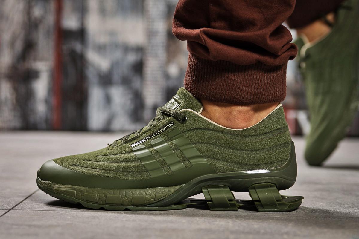 Кросівки чоловічі 14735, Adidas Porsche Desighn, зелені, [ 45 ] р. 45-29,0 див.