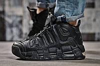 Кроссовки женские 14771, Nike Air Uptempo, черные, < 41 > р. 41-26,9см., фото 1