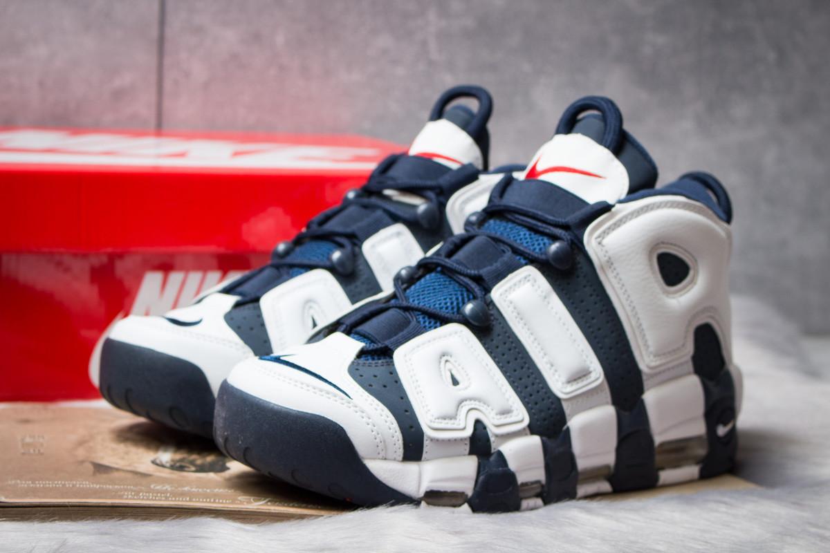 Кросівки чоловічі 14824, Nike More Uptempo, темно-сині, [ 44 ] р. 44-28,1 див.