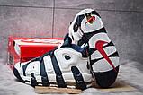 Кросівки чоловічі 14824, Nike More Uptempo, темно-сині, [ 44 ] р. 44-28,1 див., фото 4