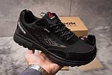 Кросівки чоловічі 14973, Reebok Dmx Max, чорні, [ 44 ] р. 44-28,5 див., фото 2