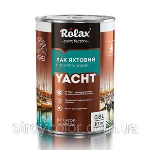Лак яхтенный полиуретановый Rolax глянцевый, 2.5 л. (Ролакс лаки по дереву)