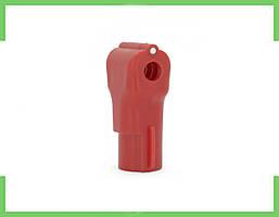 Стоплоки для Крючков, диаметр 4 мм, (красный)