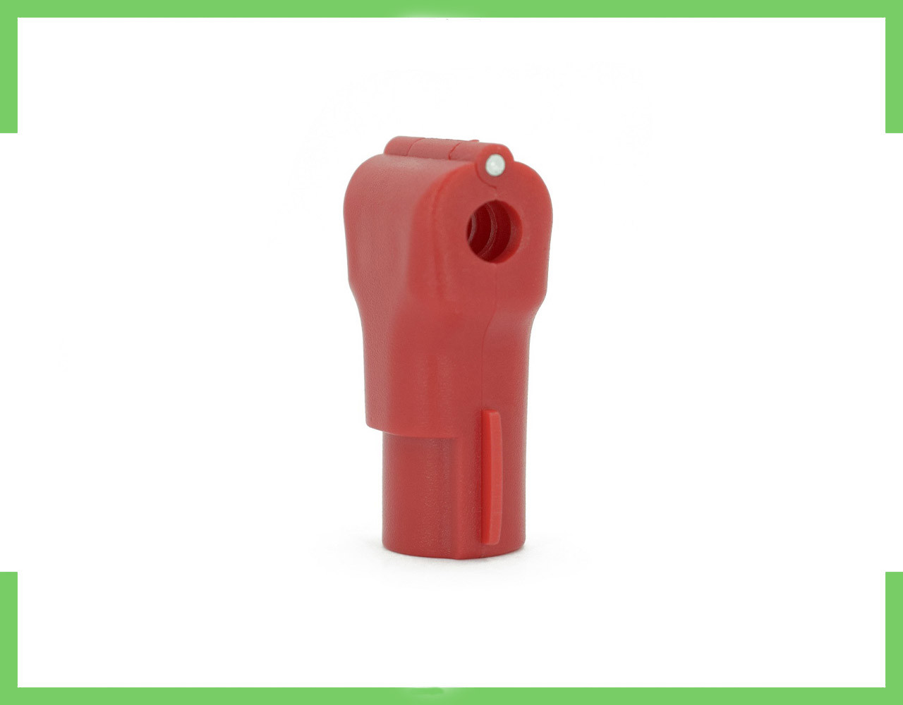 Стоп Лок на Крючок диаметр-6мм (красный)