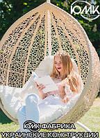 Кресло подвесное- Веста- ЮМК купить кокон из ротанга с подушкой