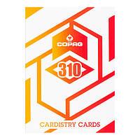 Карты для кардистри Copag 310 Alpha Orange