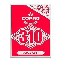 Карты для фокусов Copag 310 Face Off (Красные)