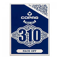 Карты для фокусов Copag 310 Face Off (Синие)