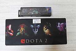 Коврик для мышки Dota D-702 70*30 см с фирменной коробкой Игровая поверхность Дота