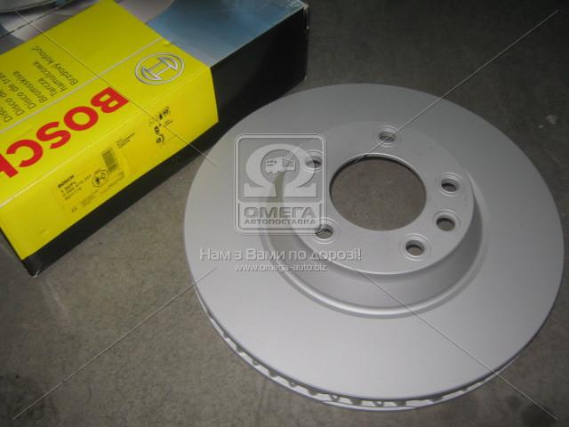 Диск тормозной AUDI Q7, VW TOUAREG передн., вент. (пр-во Bosch)
