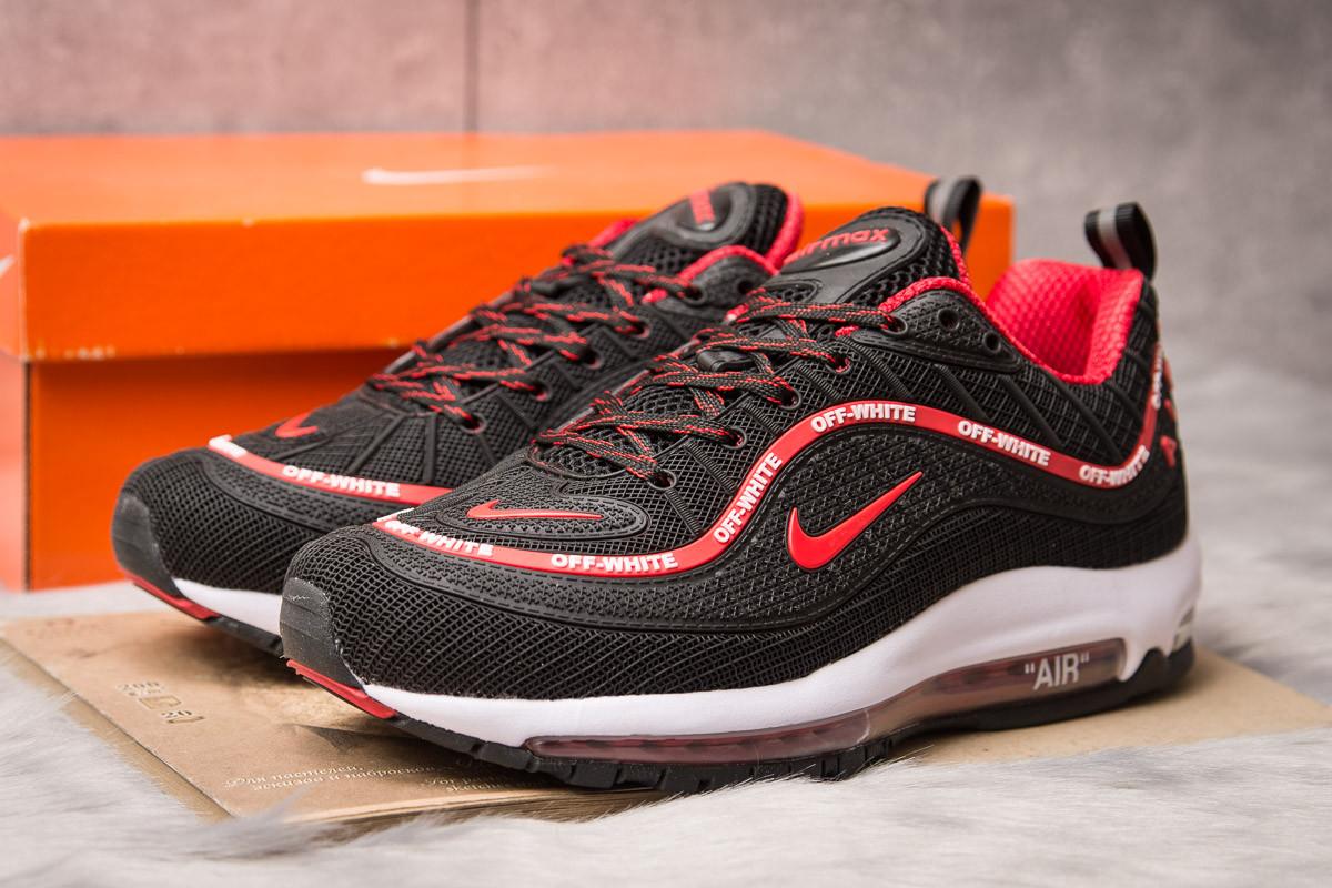Кроссовки мужские 15263, Nike Air Max, черные, < 41 42 43 45 > р.41-26,3