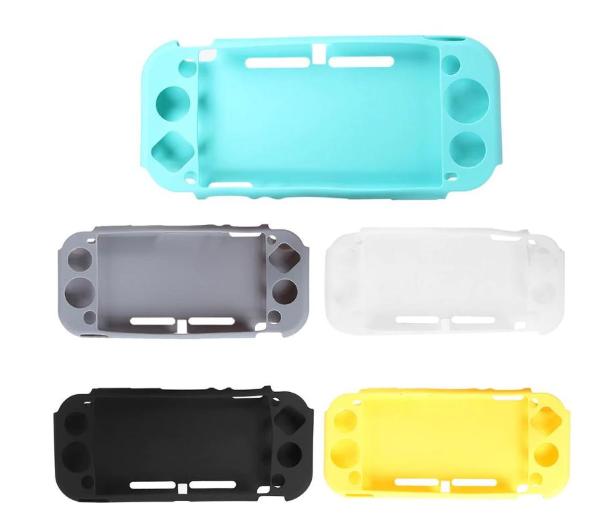 Силиконовый мягкий чехол для Nintendo Switch Lite / Есть стекла /