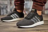 Кросівки чоловічі 15334, Adidas Iniki, чорні, [ 44 ] р. 44-28,0 див., фото 2