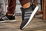Кросівки чоловічі 15334, Adidas Iniki, чорні, [ 44 ] р. 44-28,0 див., фото 4