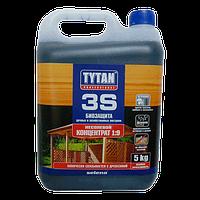 Деревозащитное средство биозащита для древесины Tytan 3S 9:1, 5кг