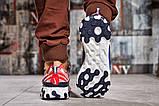 Кросівки чоловічі 15393, Nike React, сині, [ 42 44 ] р. 42-27,0 див., фото 3