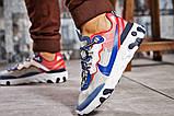 Кросівки чоловічі 15393, Nike React, сині, [ 42 44 ] р. 42-27,0 див., фото 4