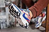 Кросівки чоловічі 15393, Nike React, сині, [ 42 44 ] р. 42-27,0 див., фото 5