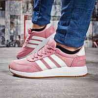 Кроссовки женские 15432, Adidas Iniki, розовые, < 37 39 41 > р.37-23,0, фото 1