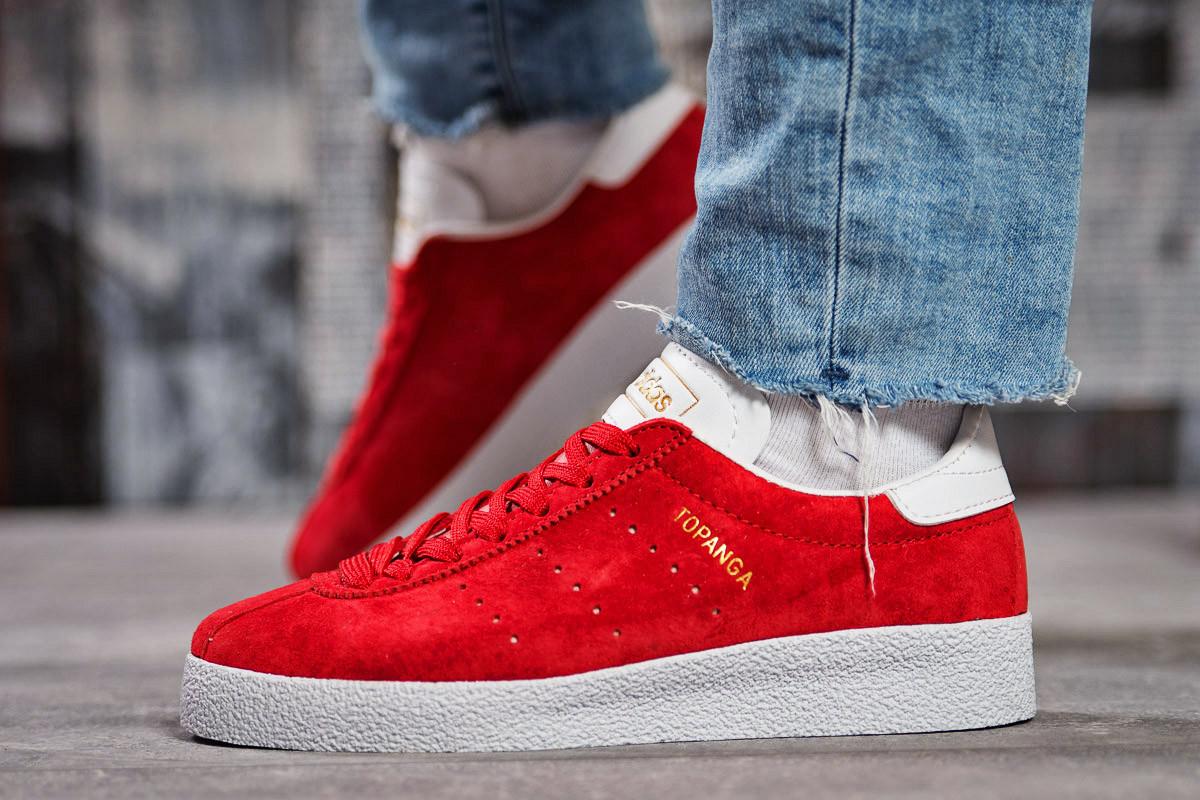 Кроссовки женские 15461, Adidas Topanga, красные, < 37 38 > р. 37-23,5см.