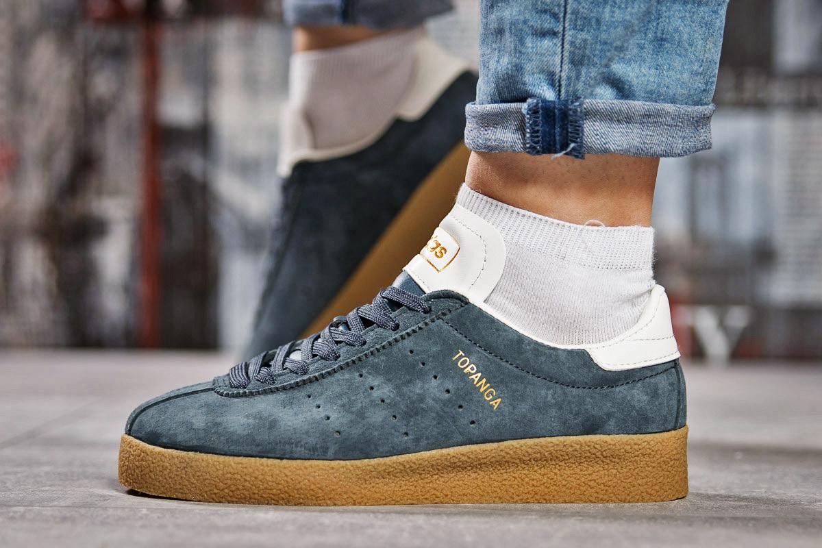 Кроссовки женские 15464, Adidas Topanga, темно-серые, < 38 > р. 38-24,0см.